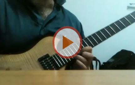 Alone brano creato da Giuseppe Minutolo