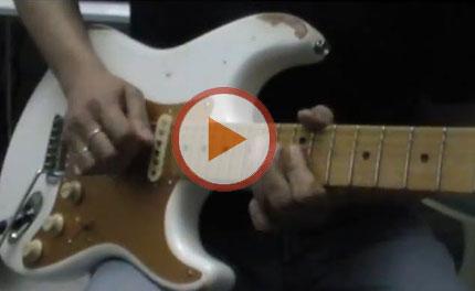 Un brano nello stile dello zio Gilmour: Flying Away