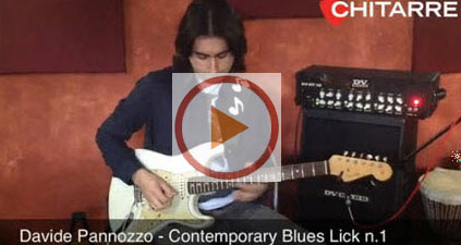 Guitar lick by Davide Pannozzo