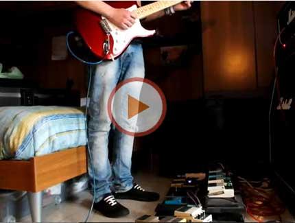 Il Flanger nel suono di David Gilmour