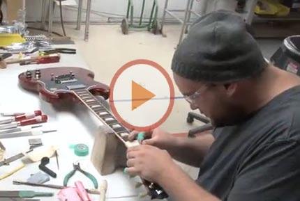 Come nasce una chitarra Gibson