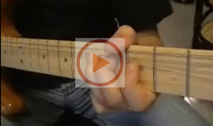 David Gilmour: lick blues
