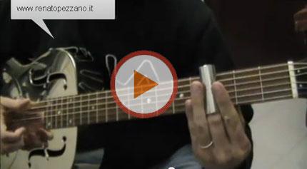 Le accordature aperte nel BLUES e la chitarra DOBRO