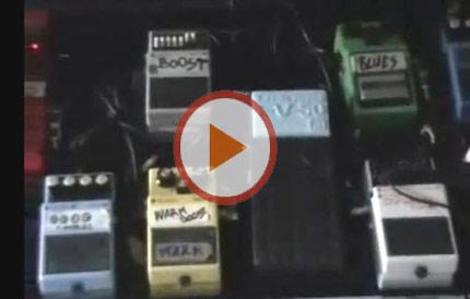 David Gilmour e il suo