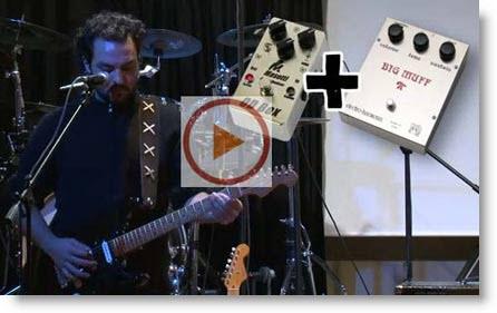 Sound D.Gilmour: Distorsione e Modulazione