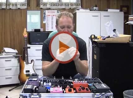 Assemblare una pedaliera effetti per chitarra elettrica