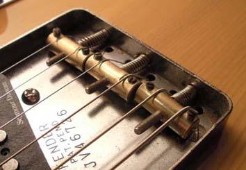 ponte Fender Telecaster