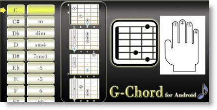 Tutti gli Accordi di Chitarra in tasca con G-Chord