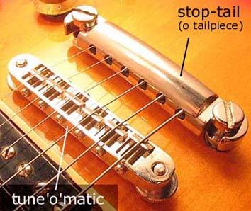 ponte Gibson Tune'o'Matic