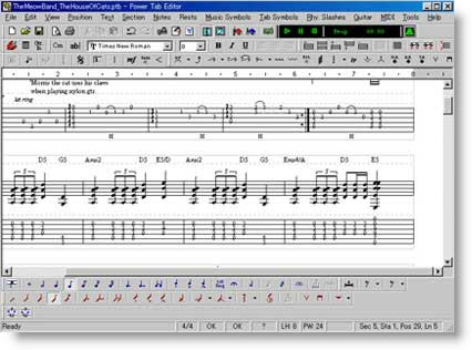 Power Tab Editor: creare Tablature dei vostri assoli