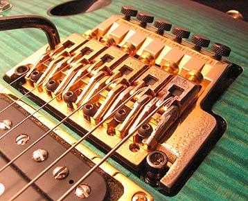 Setup su chitarre con  ponte Ibanez Lo-Pro Edge