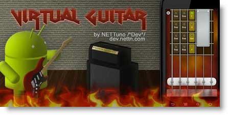 Virtual Guitar: una chitarra virtuale sul tuo telefonino Android
