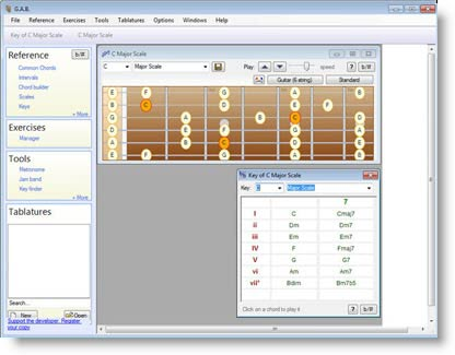 Guitar and Bass: software gratuito per imparare a suonare