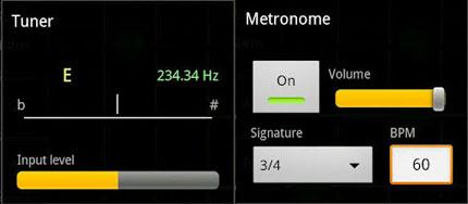 metronomo e accordatore