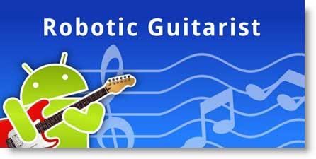 Robotic Guitarist: Chitarra virtuale, Accordatore e Metronomo tutto in uno