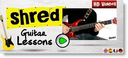 Guitar Shred: lezioni di Chitarra su Android