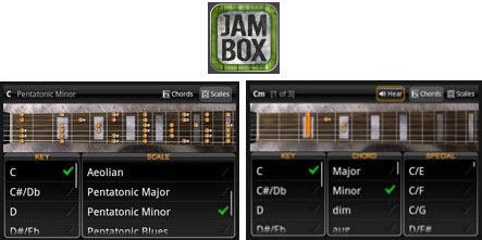 JamBox: Accordi e Scale sempre con te