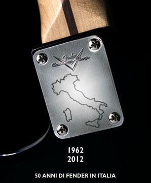 Stratocaster, serie limitata per i 50 anni di Fender in Italia