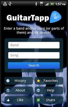 guitartapp applicazione per chitarra