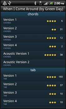 guitartapp Applicazione android per chitarra