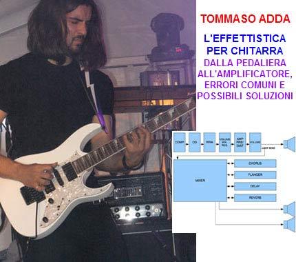 Guida all'effettistica per Chitarra di Tommaso Adda