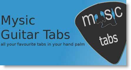 Mysic Guitar Tabs: tutti gli spartiti sul palmo della mano