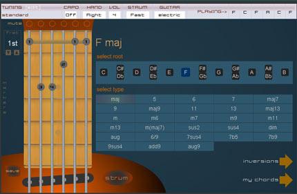 Chordbook: 3 simpatici tool online per chitarristi