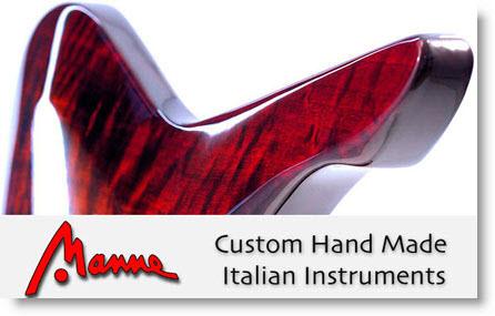 Manne Guitars: chitarre artigianali Italiane  che si fanno rispettare nel mondo