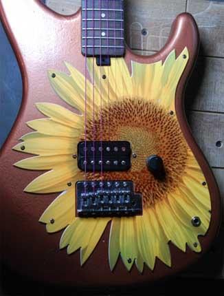 battipenna per chitarra e basso realizzati a mano