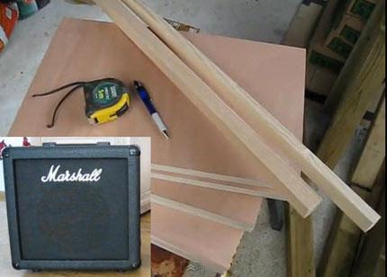 Come costruire un Guitar Cabinet 1×12 in stile Marshall 1912