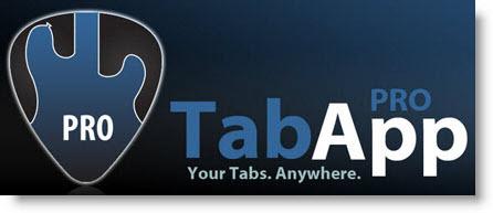 Guitar TabApp pro, tutti gli spartiti sul tuo cellulare