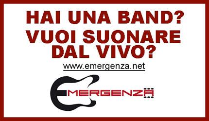 Aperte le iscrizioni per tutti i Gruppi Emergenti che vogliono suonare dal vivo in Italia e in Europa