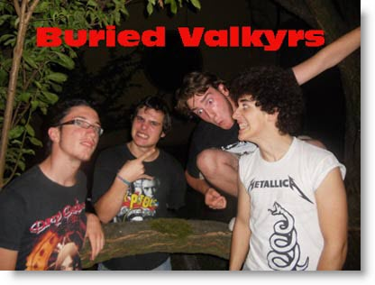 Band Emergenti: Buried Valkyrs
