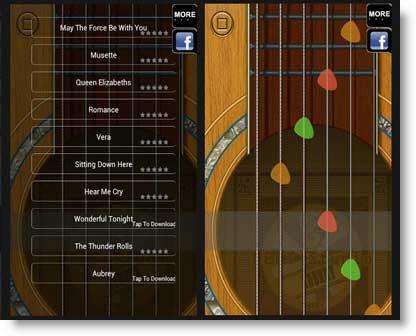 Cool Acoustic Guitar: gioco Android per amanti della chitarra