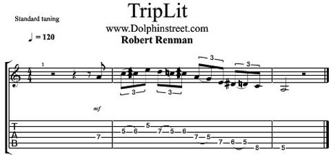 Lick Blues classico di Robert Renman