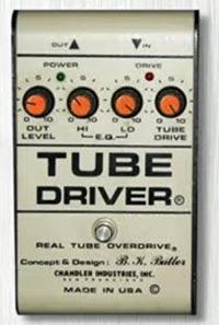Tube Driver nel suono di David Gilmour
