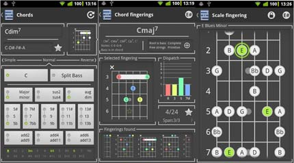 chord free applicazione Android