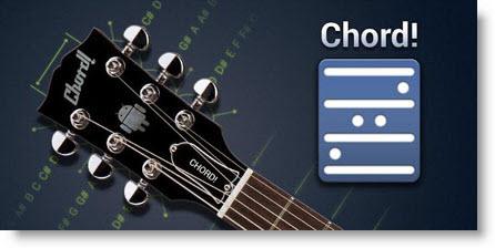 Chord free: Applicazione Android per chitarra