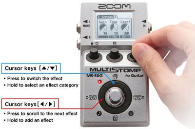 Zoom MS-50G il multieffetto per chitarra dalle dimensioni di un pedale