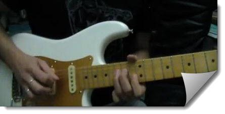 Improvvisazione Blues in Fa in stile David Gilmour