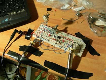 Elettronica e Chitarra: Pedale Overdrive