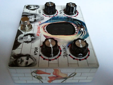 t-driver Guitar tube overdrive
