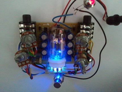 T-driver Overdrive Valvolare by Aresaudio