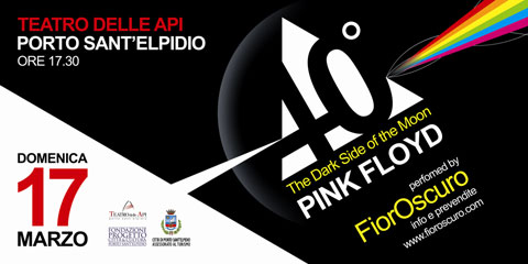 "Concerto 40° ""The Dark Side of The Moon"""