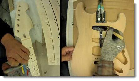 Come nasce una Fender Stratocaster