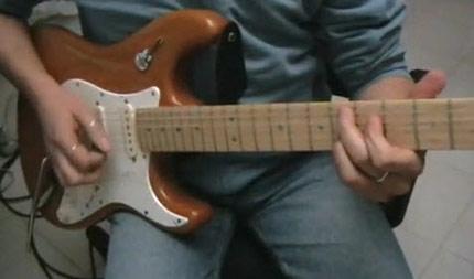 Lezione di chitarra su un giro Blues inusuale