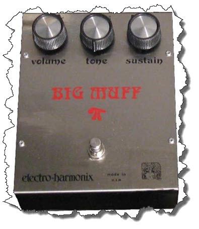 Il Big Muff nel suono di David Gilmour