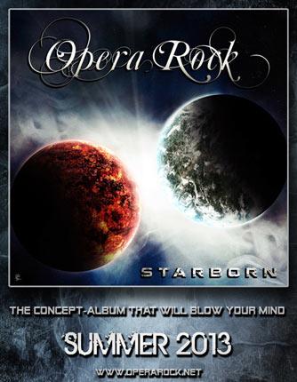 """Opera Rock pubblica la cover di """"Starborn"""""""