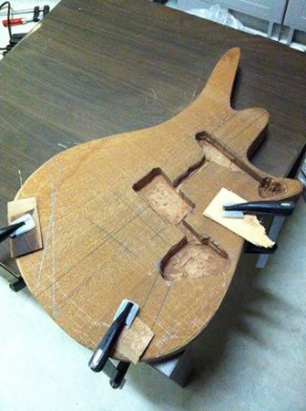 Costruiamo il Body della chitarra