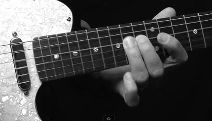 Lick Blues in stile Chuck Berry